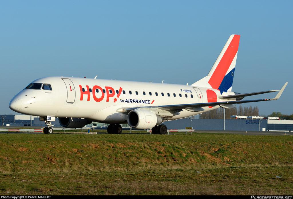 HOP! Air France détaille ses lignes estivales 2017 à Nice